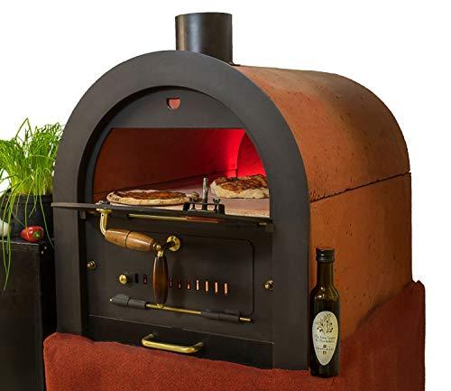 Valoriani Steinbackofen Holzbackofen Pizzaofen Bausatz indirekter Befeuerung