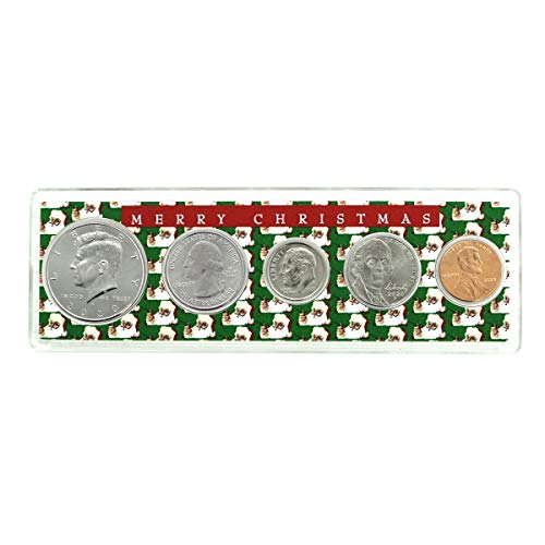 2020-5 Coin Birth Year Set in Merry Christmas Holder Uncirculated