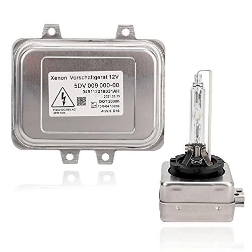 5DV 009 000-00 Xenon Hid Headlight Ballast Control Unit and D1S Bulb...