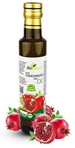 Zertifiziertes Bio Kaltgepresst Granatapfel Samenöl 250ml Biopurus