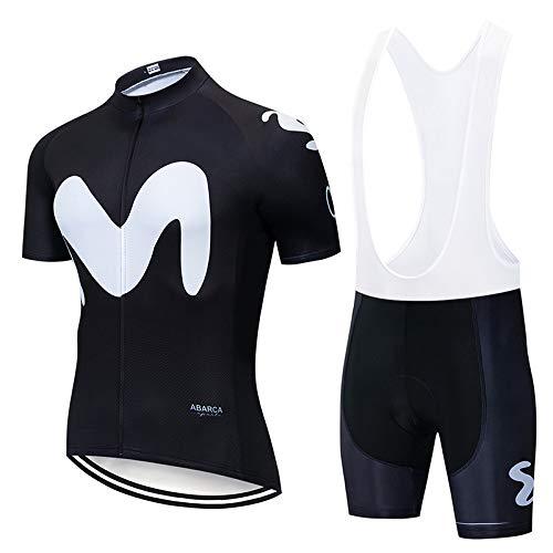 FJLR Zomer Ademend Fietsen Jersey En 9D Gel Gewatteerde Shorts Set Outfit Mountainbike T-shirt met korte mouwen Elastische Jas Snel Droog voor Mannen Vrouwen