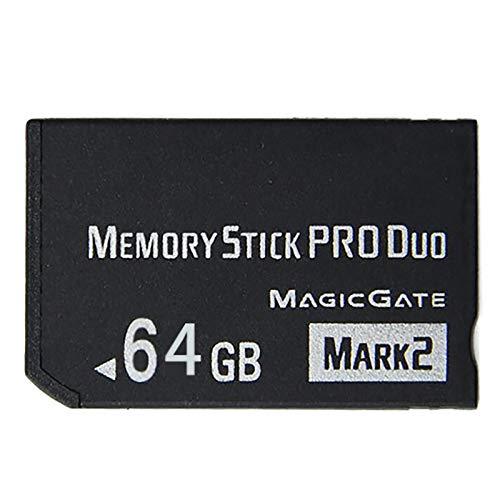 LICHIFIT Pro Duo Speicherkarte, 64 GB, für Sony PSP 2000 / 3000, High-Speed, Schwarz