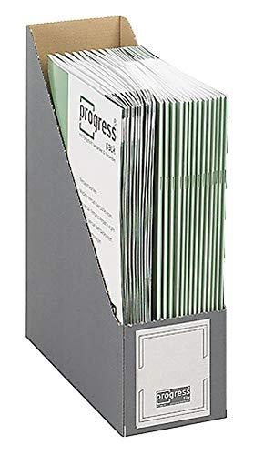 Progress PF S02.25_24_020 Stehsammler 80/100 257x 77x317 mm grau DIN A4+ SELECT ** Verpackungseinheit: 20 Stück **