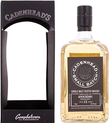 Cadenhead's KNOCKDHU 11 Years Old SMALL BATCH Single Malt Scotch Whisky 2006 (1 x 0.7 l)