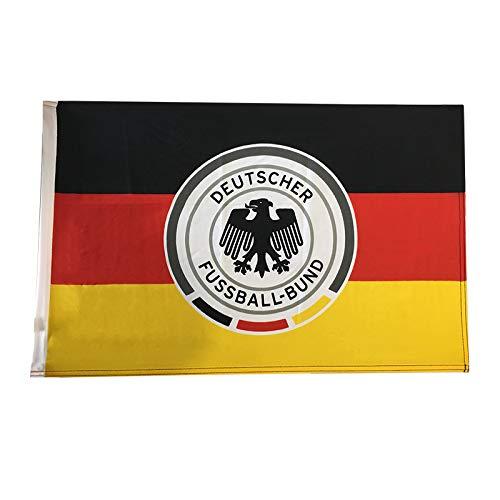 DFB Deutschland Schwenkfahne groß Schwarz Rot Gelb