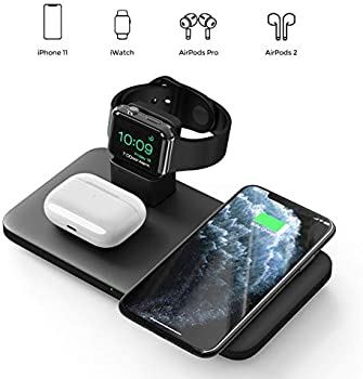Seneo 3-in-1 Qi Wireless Charging Station