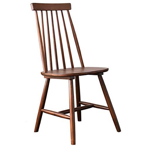 Chaise Chaise en Bois Massif Chaise de Bureau Chaise Dorsale Ordinateur Chaise dinant la Chaise Petit Appartement Chaise Loisirs Livre Unique Chaise, Bois Massif Pur