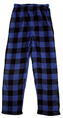 Soft Long Lounge Pant Sleep Bottoms DDILKE Boys Plaid Pajama Pants