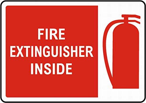 niet brandblusser binnen Tin Metalen bord Plaque Vintage Retro IJzeren muur Waarschuwing Poster Decor Voor Bar Cafe Store Home Garage Office Hotel