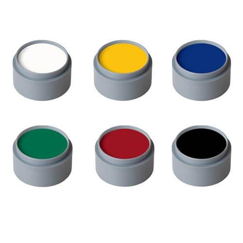 Water Make-up, 6-Farben-Palette, von Grimas [Spielzeug]