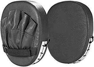 Focus Punching Mitts, Boxing Sparring Hand Target Pads with PU Leather Gloves for Kickboxing Muay Thai MMA UFC Karate Trai...