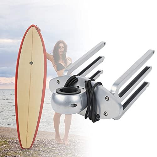 BoomSKLK Torres de Wakeboard, Soporte de Soporte para Tabla de Wakeboard, Soporte de Aluminio para Esquí Acuático, Placa Trasera para Bastidor de Murciélagos, Aluminio Billet Pulido