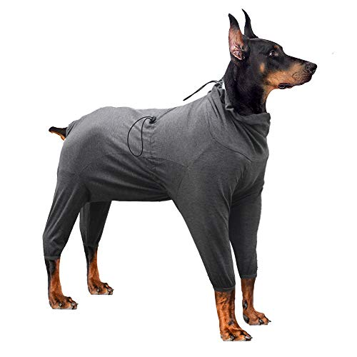 HEYWEAN Dog Surgical Recovery Suit Thunder Shirts for Dogs Long Sleeve Keep...