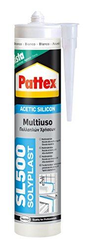 Pattex Silicone SL500 Cinza 300 ml