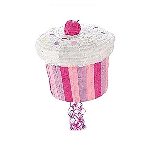 AEC - GU48529 - Pinata cup cake a tirer 27x27 cm