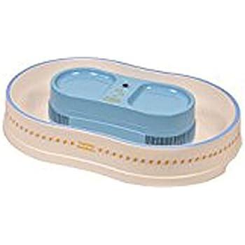 パール金属 冷たクルクル 電池式そうめん流し器 LL ブルーライン D-101