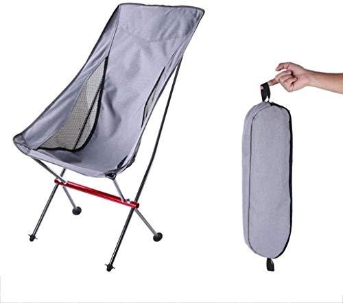 Erhöhter Mondstuhl, geeignet für Einzelstuhl in Camping Garden Beach Terrace, Tragfähigkeit 150 kg