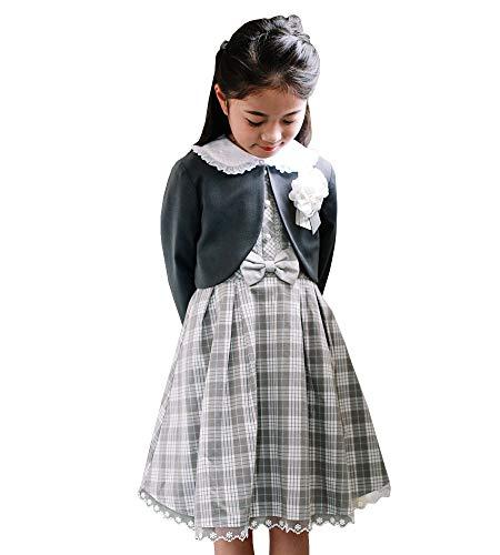 入学式 女の子 子供服 ワンピース 100 110 120 130 アンサンブル 4点セット 入学式スーツ 入学 卒園 小学校...