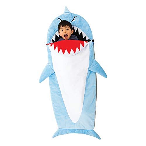 Bixbee Kids Sleeping Bag, Children's Nap Mat, Shark