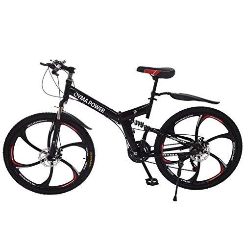 GYDX Sports Outdoor Activities Black Three-Wheeled 26 Inch Mountain Bike