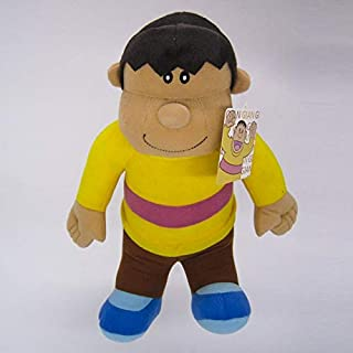 Muñeco De Peluche Infantil Nobita Nobi Doraemon Minamoto Shizuka Konta Takeshi Gigante Honekawa Suneo Peluche De Dibujos Animados Y599 Amarillo