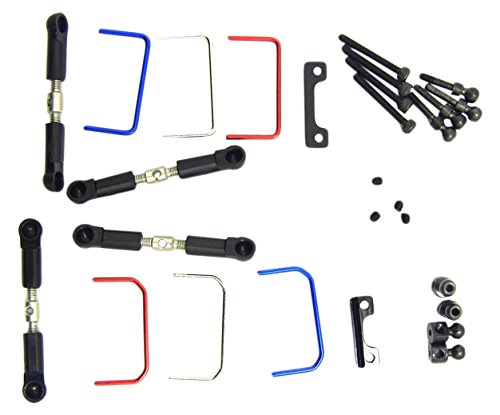 Hot Racing SCX313TL01 Aluminum 4 Link Wheelbase Links Set HRP Distributor CA HRASCX313TL01