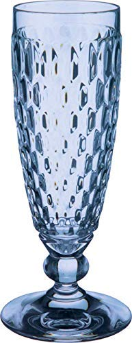 Villeroy & Boch Boston Coloured Copa de Cava, 150 mililitros, Cristal, Azul