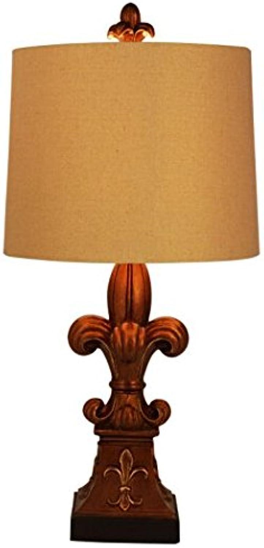 European-Style Tischleuchte American Retro dekorativ einfache Lampe kreativ leuchten kreativ licht lighting Lampen und Lampen B073J5V3X6       New Style