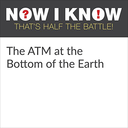 The ATM at the Bottom of the Earth audiobook cover art
