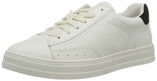 ESPRIT Damen Sidney Lace up Sneaker, Weiß (100 White), 38 EU