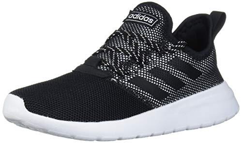 adidas Kid's Unisex Lite Racer Reborn Black/Black/White 12K