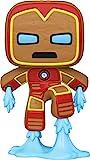 Funko- Pop Marvel Holiday-Iron Man S3 Figura coleccionable, Multicolor (50658)