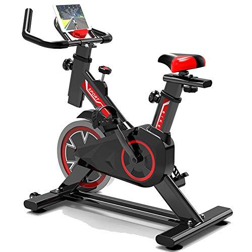 HJHYE Biciclette da Ciclismo Indoor,Manubrio Regolabile E Seat Fitness Cycling,Cyclette Upright Exercise Bikes,Esercizio Bici per La Casa-Nero 87 * 20 * 73cm