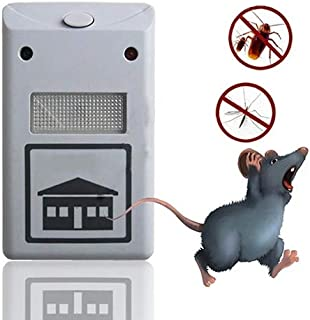 Allegro Huyer Mole Solar Repellant Plug Electronic Ultrasonic Rat Mouse Mice Repellent Rodent Pest Bug Reject Mole Mosquito Cockroaches