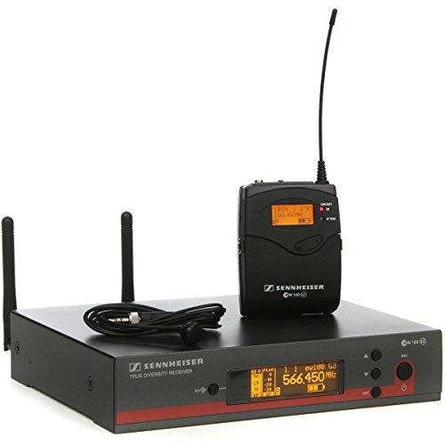 Sennheiser EW 122g3-g-us compacto Cardioide EW Sistema de micrófono de solapa