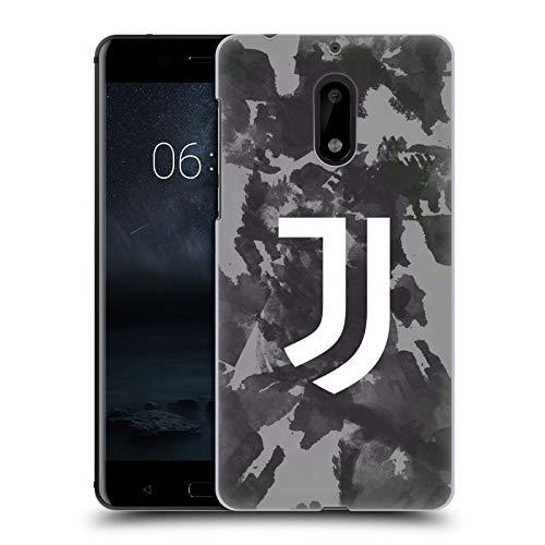 Head Case Designs Licenza Ufficiale Juventus Football Club Logo Schizzo Monocromatico Arte Cover Dura per Parte Posteriore Compatibile con Nokia 6