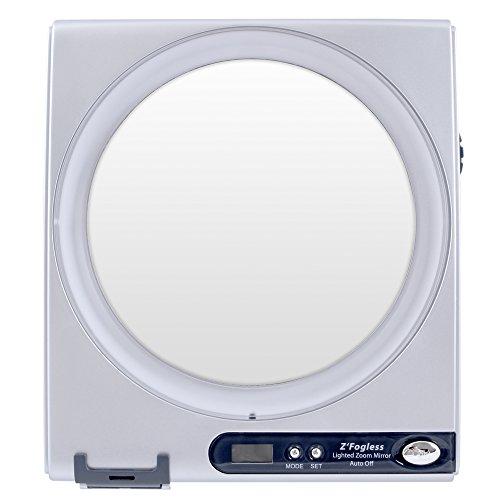 Zadro Fogless Shower Mirror, Silver Finish, 1X-5X, Z850