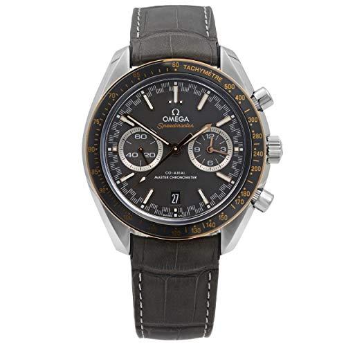 Omega Speedmaster Racing Reloj automático con cronógrafo y esfera gris para hombre 329.23.44.51.06.001