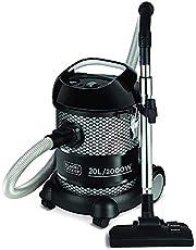Black+Decker 20L 2000W Barrel/Drum Vacuum Cleaner, Black - BV2000-B5, 2 Year Warranty
