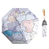 Rosavida Kids Umbrella Automatic Open Umbrella Cartoon Waterproof and UV-resistant- Travel Umbrella Compact Umbrellas for Girls and Boys #1