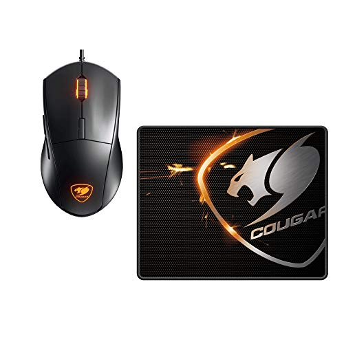 Cougar Minos XC 4000 DPI Optical Sensor Gaming Mouse with LED Backlight Inlcudes Speed XC MM Mouse Pad