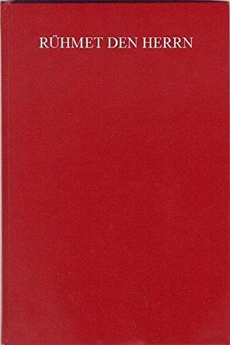 Rühmet den Herrn: Auswahl aus Kuhlo I - IV (Johannes Kuhlo: Neues Posaunenbuch, Band 2)