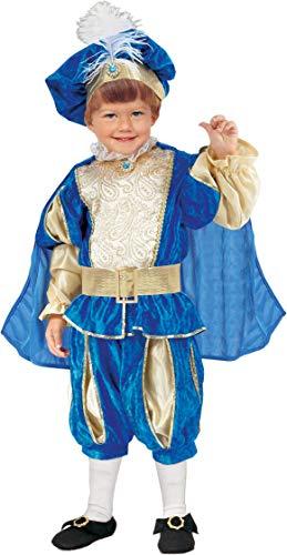 Ciao Principino Costume Bambino, Azzurro, 3-4 Anni
