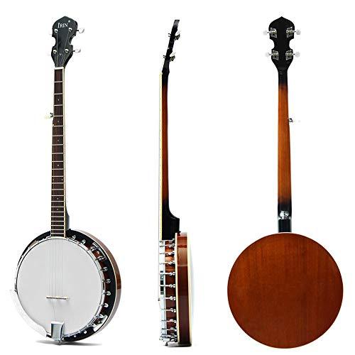 BLKykll Banjo De Seis Cuerdas Banjo Guitarras Acústicas Banjo De Instrumento Musical Ajust Jugar Regalos Adecuado para El Aprendizaje Diario Y La Recreación