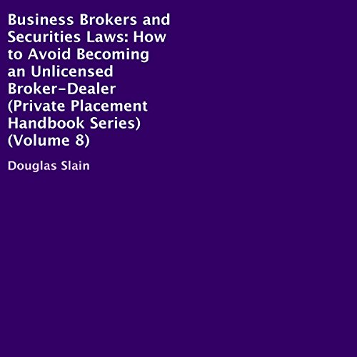 Business Brokers and Securities Laws audiobook cover art