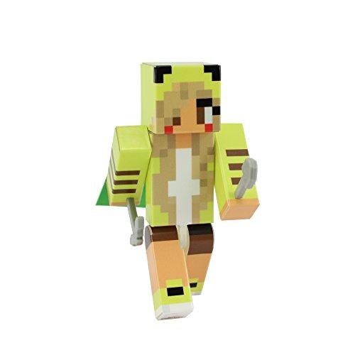 EnderToys Pika Girl Action Figure Toy, 4 Inch Custom Series Figurines