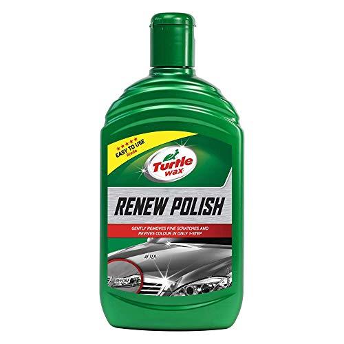 Turtle Wax 51796 Renew Liquid Car Polish Flüssige Autopolitur Entfernt Flecken Und Feine Kratzer 500Ml