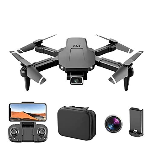 GZTYLQQ Droni Pieghevoli con videocamera HD 4K per Adulti, Mantenimento dell'altitudine, modalità Senza Testa, Selfie con gesti, Ritorno Automatico a casa,
