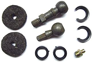 The Parts Place Up GM Cars Bell Crank Clutch Ball Stud Kit