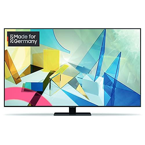 Samsung QLED 4K TV Q80T 55 Zoll (GQ55Q80TCTXZG), Quantum HDR 1500, Quantum Prozessor 4K, PQI 3800 [2020]